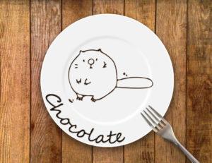 チョコ文字を描こう ~不器用でも精一杯の愛をこめて~