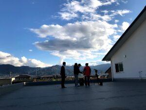 ホームページ屋ですが山梨県で動画の撮影です。